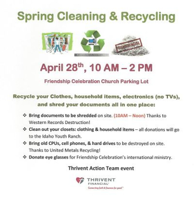 Spring Cleaning & Recycling