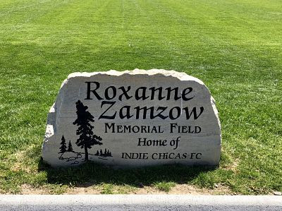 Roxanne Zamzow Memorial Field Dedication